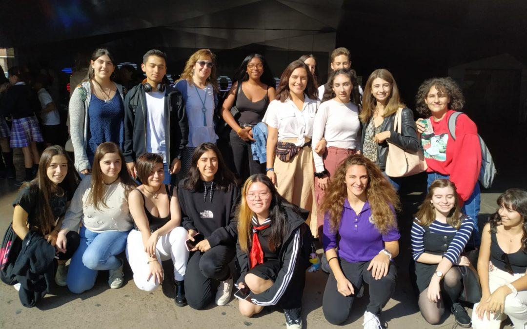 Los alumnos de Humanidades visitan la exposición 'Lujo. De los asirios a Alejandro Magno'