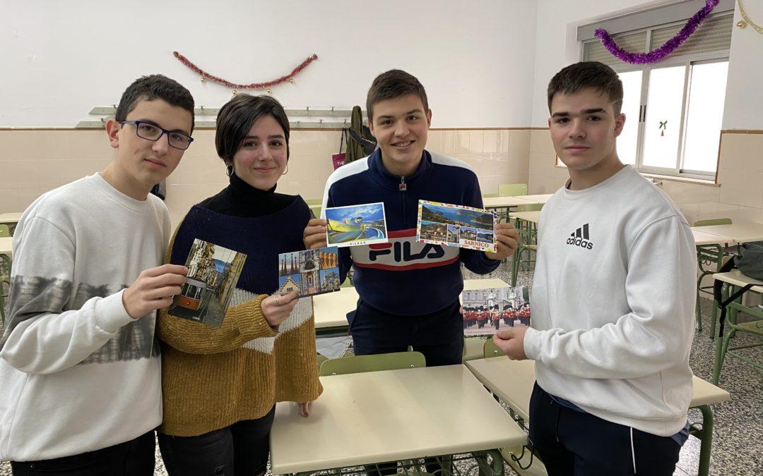 Los alumnos de Bachillerato quieren recibir más postales
