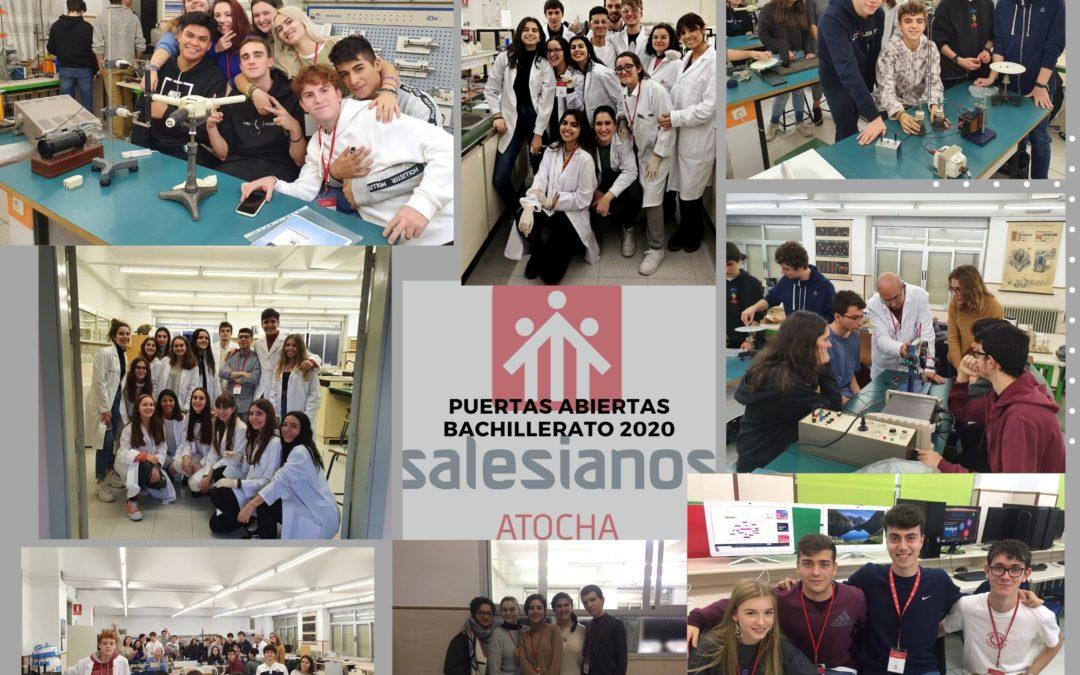 Los alumnos: protagonistas de la 'Jornada de Puertas Abiertas' de bachillerato 2020
