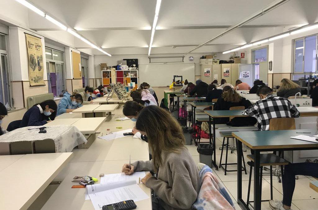 Los alumnos de segundo de Bachillerato concluyen los globales de la segunda evaluación