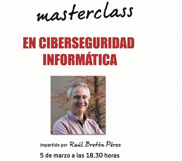 MasterClass sobre Ciberseguridad